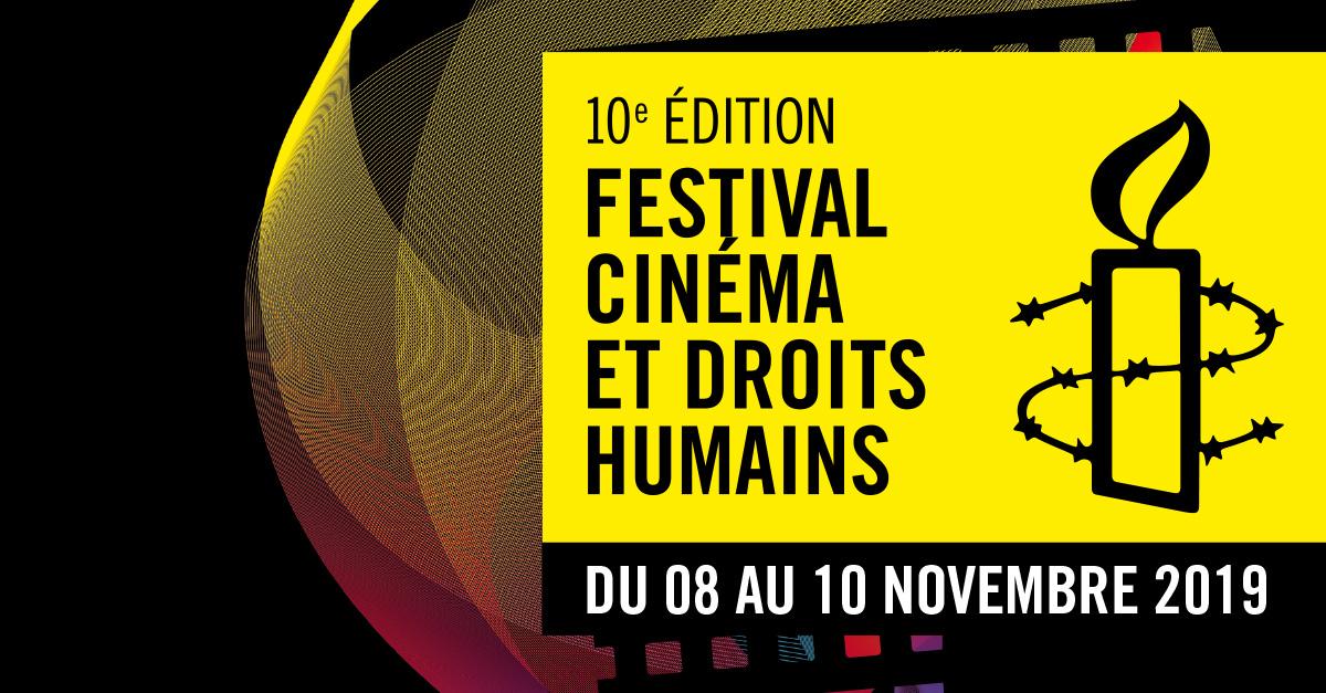 Festival cinéma et droits humains du 08 au 10 novembre 2019